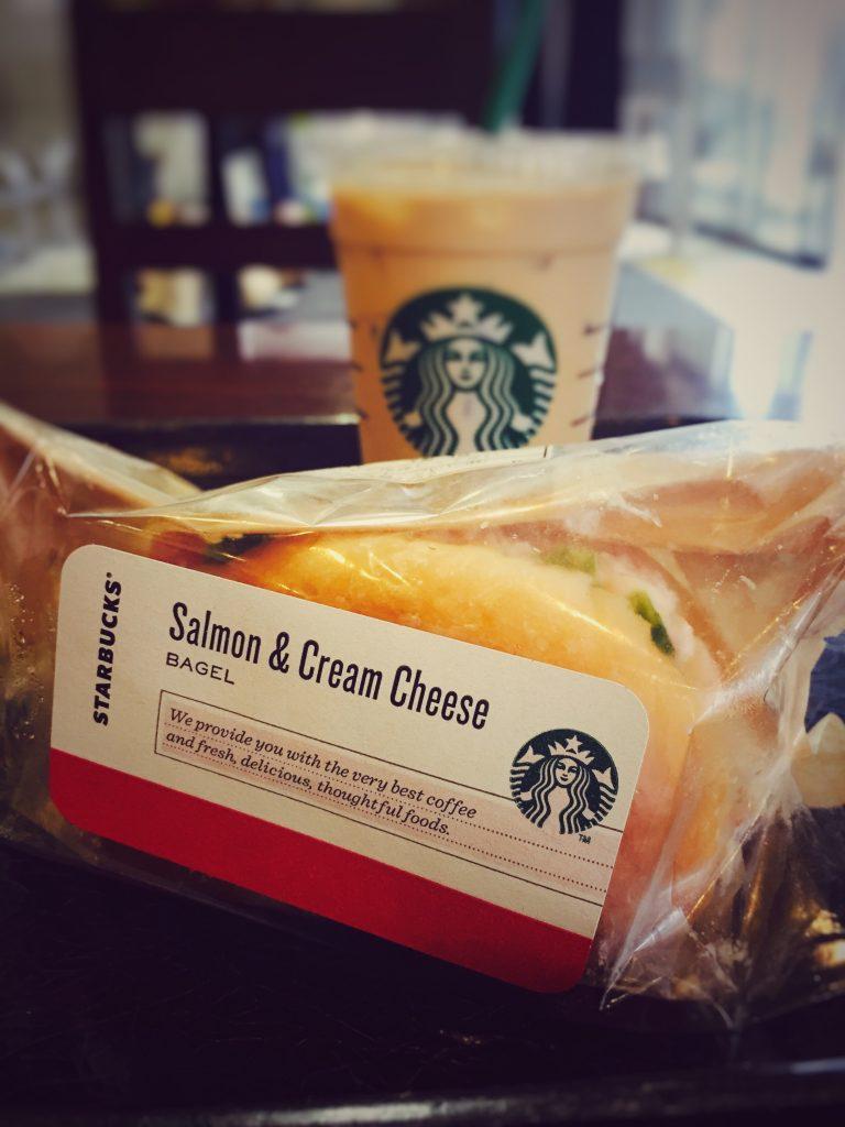 サーモン&クリームチーズ ベーグル